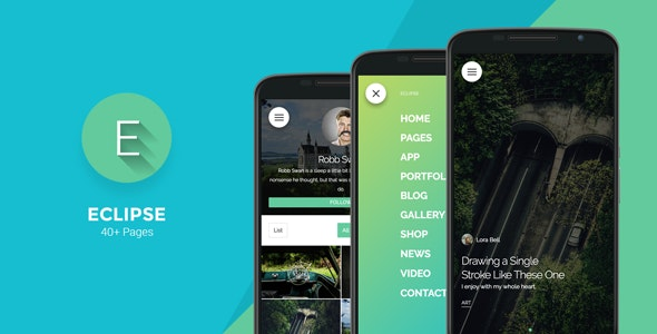 Eclipse - Mobile Template - Mobile Site Templates