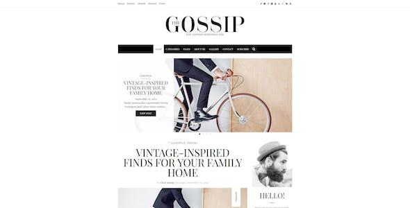 Gossip - Pure & Simple Personal WordPress Blog