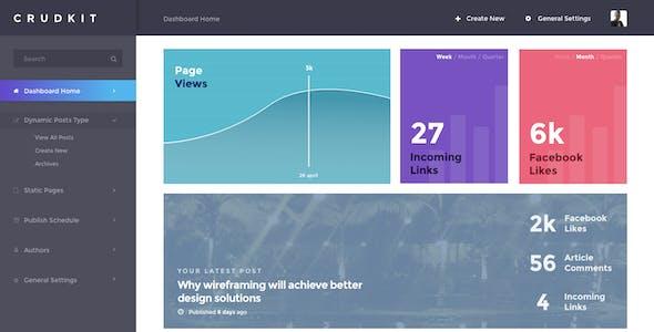CrudKit - Publishing/News/Blog Interface