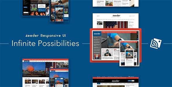 4eeder - A Responsive Web UI Kit - Creative Sketch