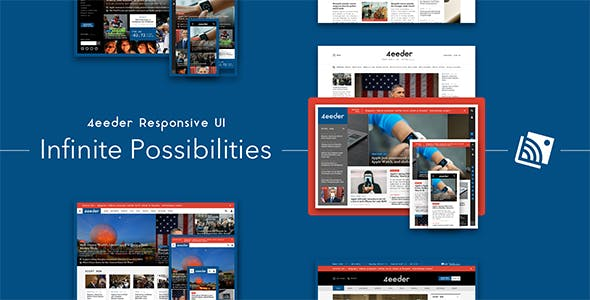 4eeder - A Responsive Web UI Kit