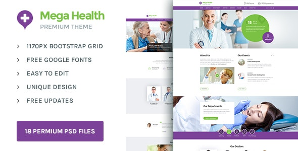 Mega Health : Theme for Health and Medical Centers - Health & Beauty Retail