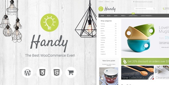 Handy v5.2.0  – Handmade Shop WordPress WooCommerce Theme