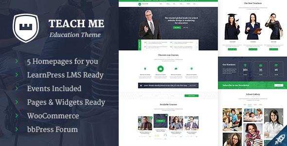 Teach Me - Education PSD Template - Nonprofit Photoshop