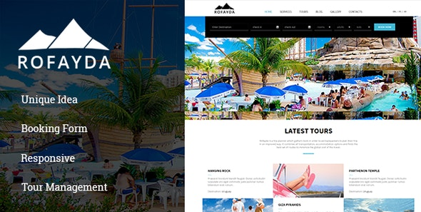 Rofayda -Tours & Travel HTML Template - Travel Retail