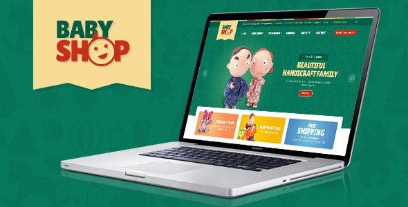 Baby Shopify Theme - Shopping Shopify
