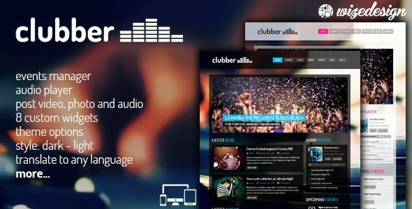 WordPress Music Themes from ThemeForest