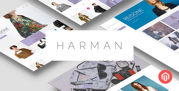 Harman - Multi-Concepts Responsive Magento Theme