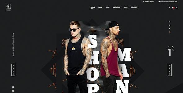 Platinum - Stylish ecommerce PSD Template for Fashion