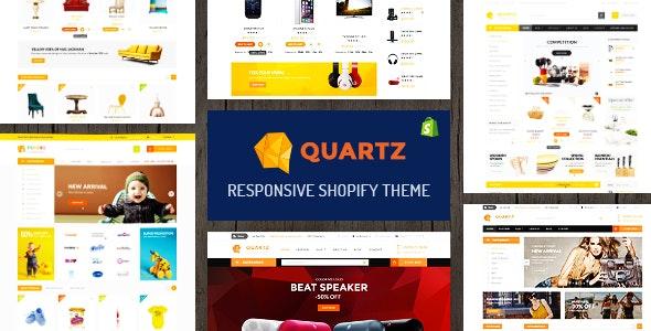 Quartz - A Genuinely Multi-Concept Shopify Theme - Shopify eCommerce