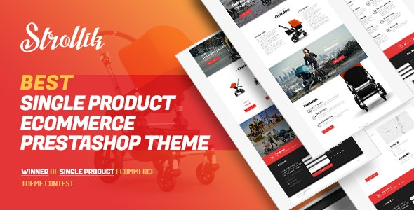 Pts Strollik - Best Single Product Prestashop Theme 1.6 & 1.7 - PrestaShop eCommerce
