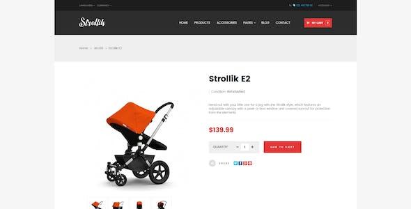 Pts Strollik - Best Single Product Prestashop Theme 1.6 & 1.7