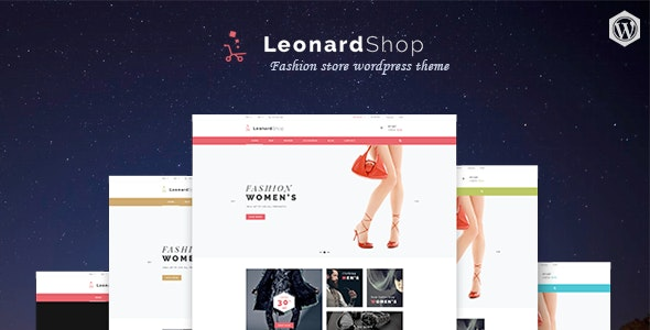 Leonard Shop - Responsive WooCommerce WordPress Theme - WooCommerce eCommerce