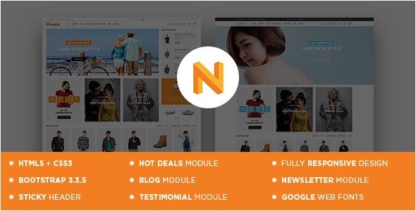 Nexon - Apparel Store Responsive OpenCart Theme - Shopping OpenCart