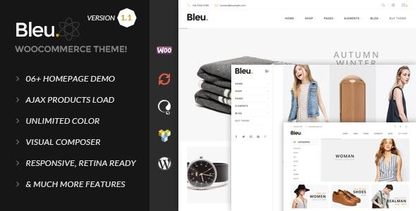Bleu - Fashion Responsive WooCommerce Theme - WooCommerce eCommerce