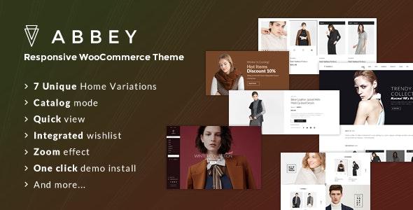 Abbey - Responsive WooCommerce Theme - WooCommerce eCommerce