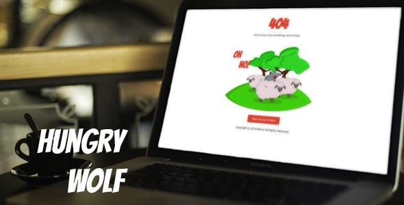404 - Hungry Wolf - 404 Pages Specialty Pages