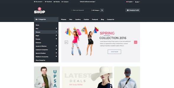 eShop-Multipurpose ecommerce PSD Template