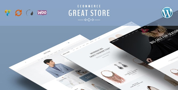 GREAT STORE – Responsive WordPress Theme eCommerce - WooCommerce eCommerce
