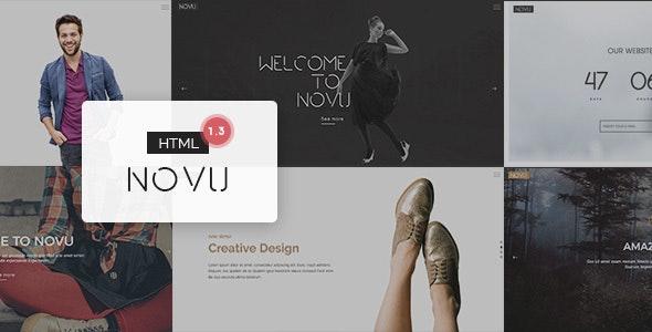 Novu - Modern & Creative HTML Template - Creative Site Templates