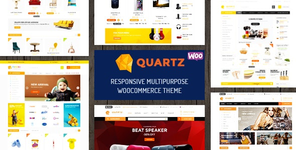 Quartz - Responsive Multipurpose WooCommerce Theme - WooCommerce eCommerce