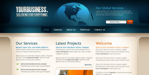Your Business Template