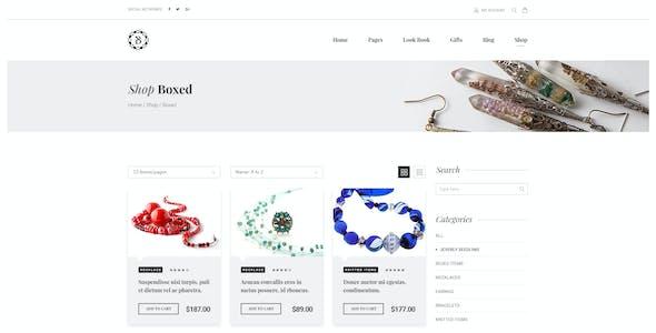 Bejouette - Handmade Jewelry Designer PSD Template