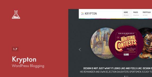 Krypton: Responsive Business and Portfolio Theme - Blog / Magazine WordPress