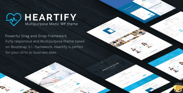 Heartify - Medical Health & Clinic WordPress Theme - Health & Beauty Retail