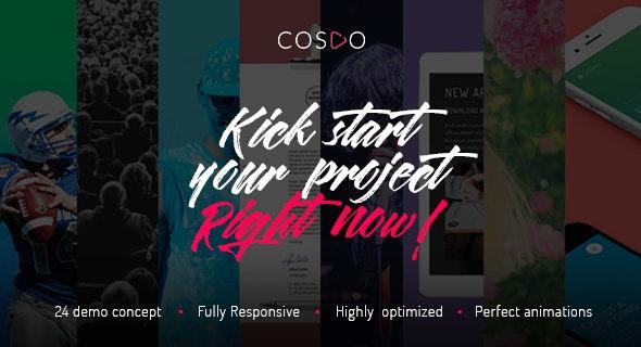 Cospo — Creative Multi-purpose HTML Template - Creative Site Templates