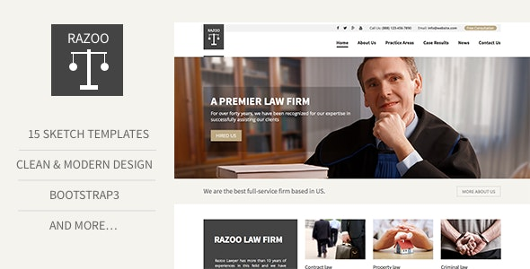 Trust - Lawyer & Attorney Business Sketch Template - Sketch Templates