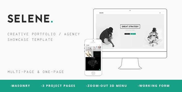 SELENE – Creative Portfolio / Agency WP Theme - Portfolio Creative