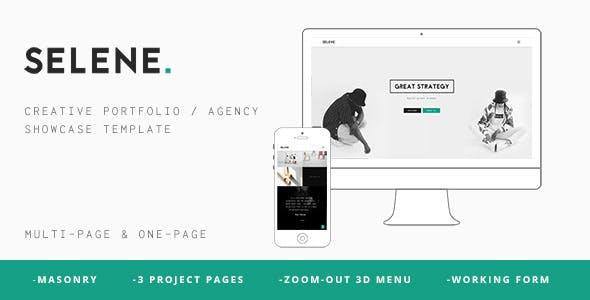 SELENE – Creative Portfolio / Agency WP Theme