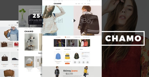 Chamo - Fashion Furniture Store HTML Template - Fashion Retail