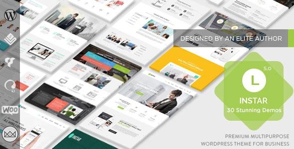 Linstar - MultiPurpose WordPress Theme - Business Corporate