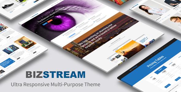 Bizstream - Ultra Responsive Multi-Purpose Theme - Corporate WordPress