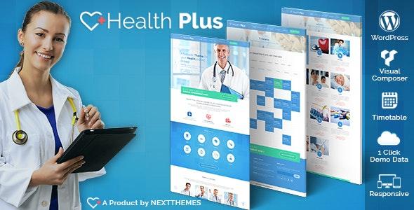 Health Plus – Health & Clinic WordPress Theme - Health & Beauty Retail