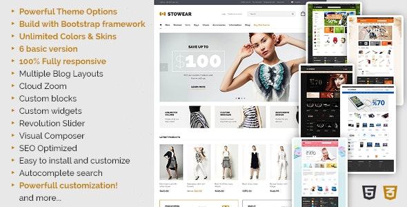Stowear - Multipurpose WooCommerce Theme - WooCommerce eCommerce
