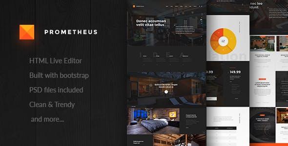 Prometheus – Multipurpose HTML Template