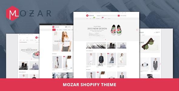 Mozar - Shopify Theme - Fashion Shopify