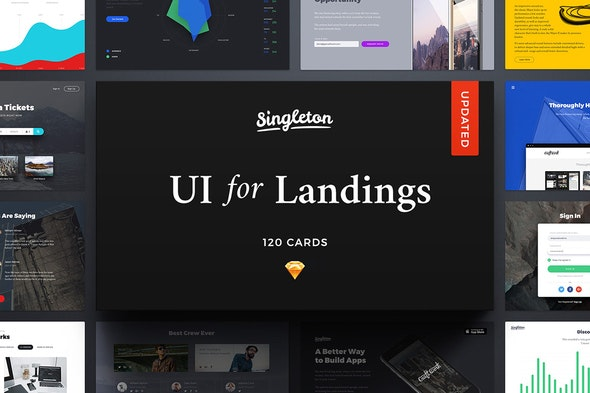 Singleton UI Pack - Creative Sketch