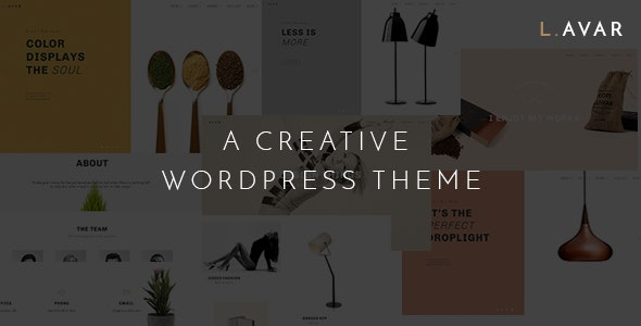 Lavar - Portfolio & Agency WordPress Theme - Portfolio Creative