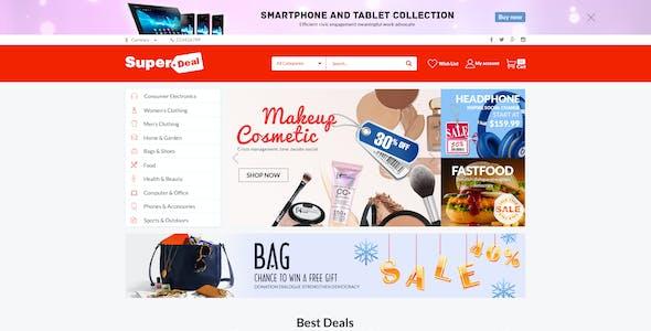 Super Deal - MultiPurpose eCommerce HTML5 Template