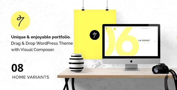 SEVEN - Minimal Portfolio / Agency WordPress Theme - Portfolio Creative