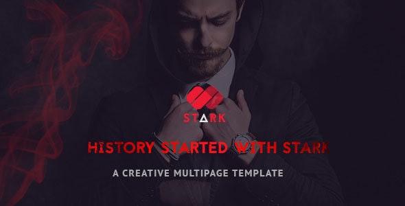 Stark - Creative PSD Template - Creative PSD Templates