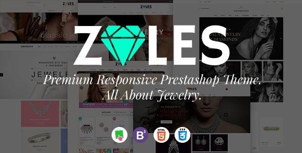 Zales |  Beauty & Jewelry Diamond Rings Responsive Prestashop Theme - Health & Beauty PrestaShop