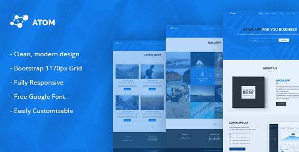 Atom - Multipurpose Responsive HTML5 Template by NetGon