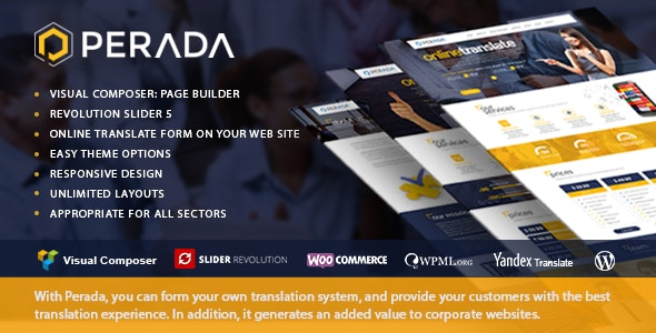 Perada - Translation Services - Business Corporate