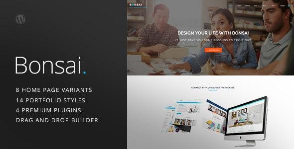 Bonsai - Multipurpose Multi/One Page Responsive WordPress Theme - Portfolio Creative