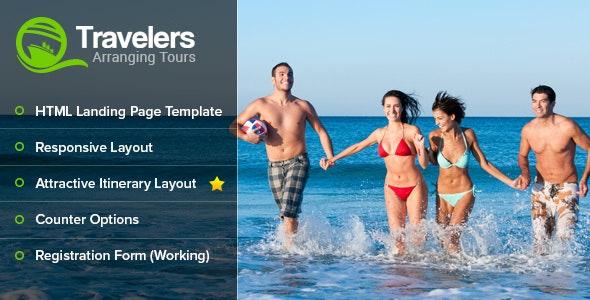 Travelers Landing Page - Travel Retail